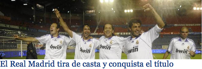 Real Madrid CAMPEON!!